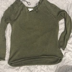 Army Green H&M Sweater